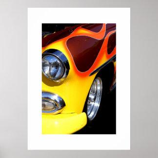 Poster auto clásico póster