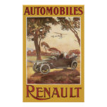 Póster Automóviles Renault