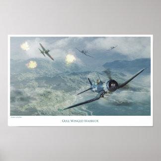 "Póster Aviation Art Poster ""F4U Corsair"""