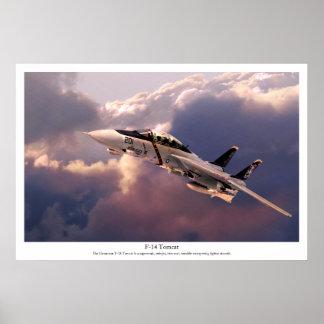 "Póster Aviation Art Poster ""F-14 Tomcat"""