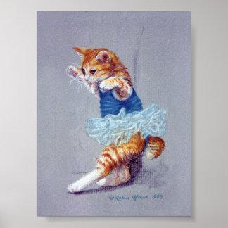 Póster Baile del gato