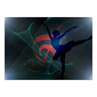 Póster Ballet