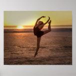 Póster Ballet en la playa