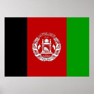 Póster Bandera de Afganistán