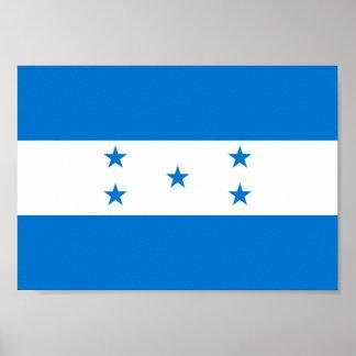 Póster Bandera de Honduras