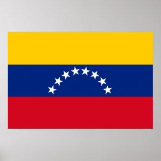 Póster Bandera de Venezuela