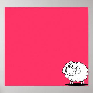 Poster barato de las ovejas