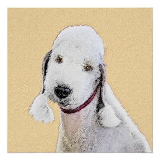 Póster Bedlington Terrier 2
