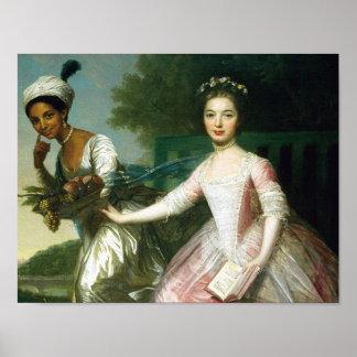 Póster Belleza y señora Murray de Dido Elizabeth