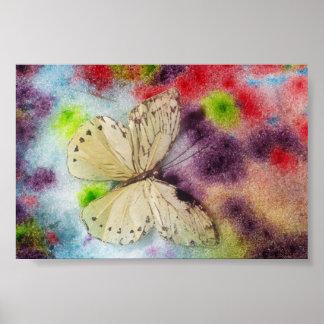 Póster Bendición de la mariposa