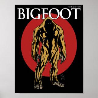 Póster Bigfoot
