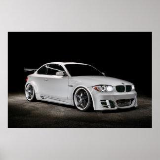 Póster BMW de fuselaje ancho empaquetado personalizado 1