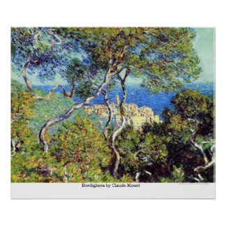 Póster Bordighera de Claude Monet