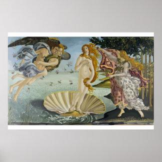 Póster Brith del poster de Venus
