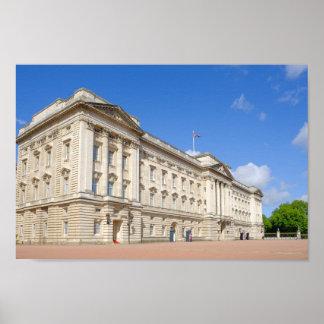 Póster Buckingham Palace, poster de Londres Reino Unido