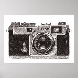 Póster Cámara Nikon 01