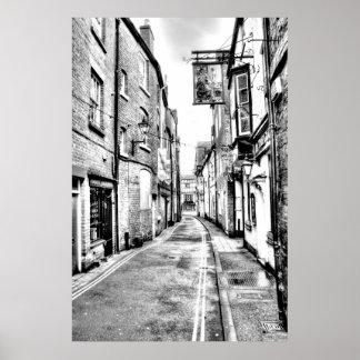 Póster Camino del vintage de Ludlow