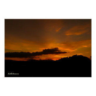 Póster ¡Campobasso, tramonto de la O.N.U!