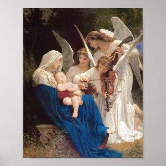 Póster Canción de los ángeles