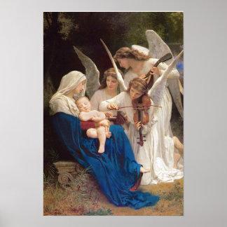 Póster Canción del navidad de los ángeles