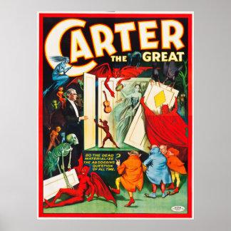 Póster Carretero el gran poster del gabinete del alcohol