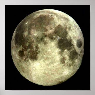 Póster Cartel de la Luna Llena