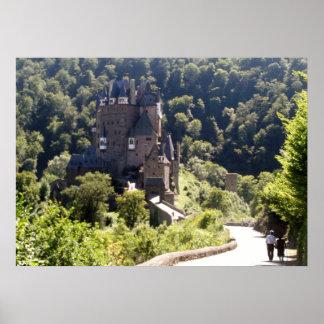 Póster Castillo de Eltz del Burg