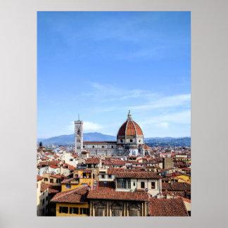 Póster Catedral de Florencia (di Firenze del Duomo)