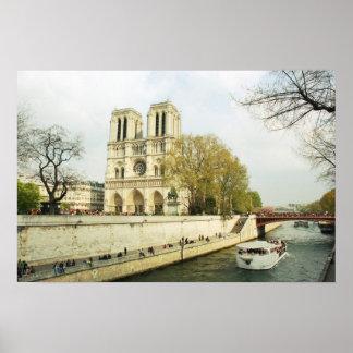 Póster Catedral de Notre Dame
