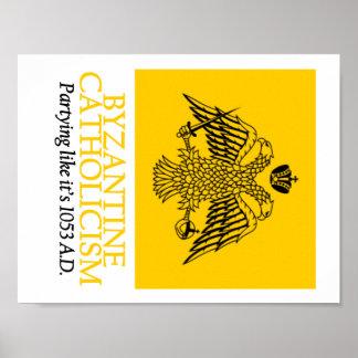 Póster Catolicismo bizantino: Poster 1053