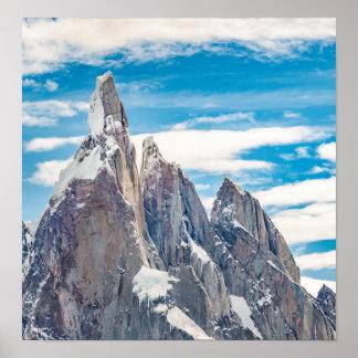 Póster Cerro Torre Parque Nacional Los Glaciares