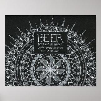 Póster Cerveza