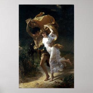 Póster Choza de Pedro-Auguste la tormenta