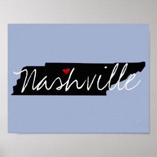Póster Ciudad de Tennessee