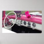 Poster clásico del coche del vintage