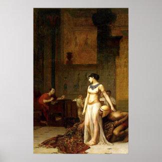 Póster Cleopatra antes de César