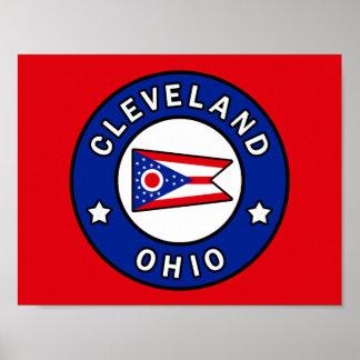 Póster Cleveland Ohio