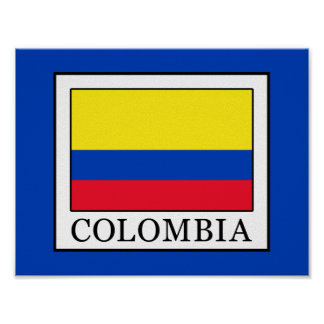 Póster Colombia
