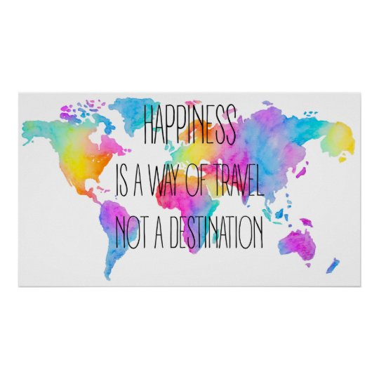 Póster Colorful Happiness Poster