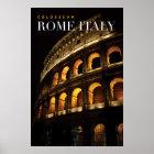 Póster colosseum Roma Italia