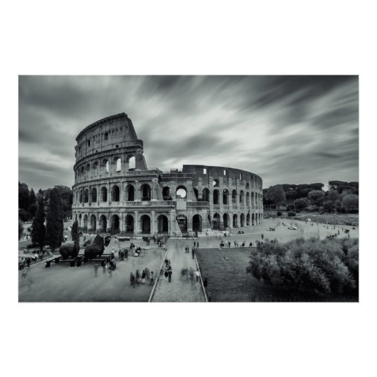 Póster Colosseum. Rome, Italy.