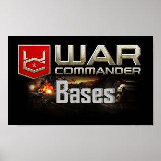 Póster Comandante Bases Small Poster de la guerra