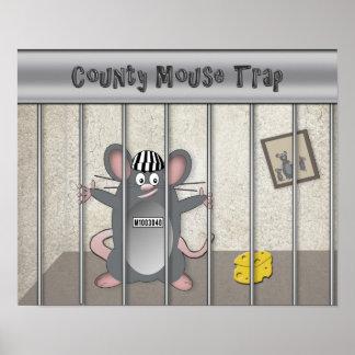 Poster - concepto - trampa del ratón