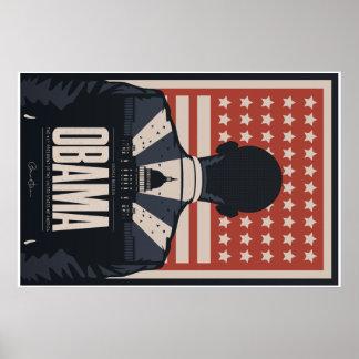 Poster conmemorativo de Barack Obama Póster