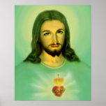 Póster Corazón sagrado de Jesús Sagrado Corazon de Jesús