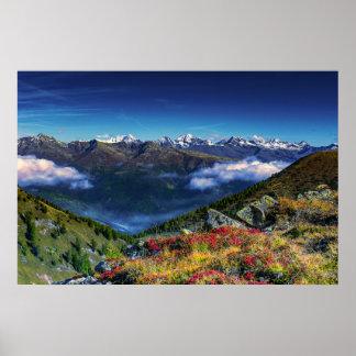 Póster Cordillera de la visión a largo plazo