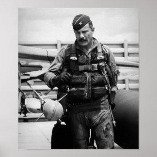 Póster Coronel Robin Olds