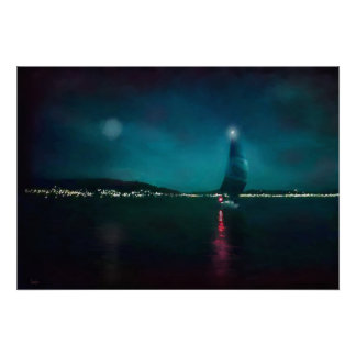 Póster Corredor de la noche