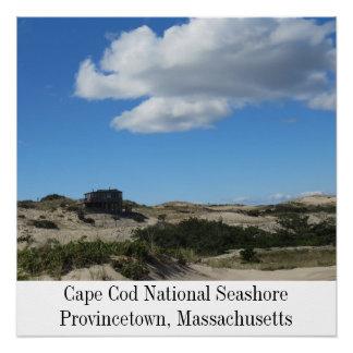 Póster Costa nacional Provincetown de Cape Cod