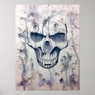 Póster cráneo del vampiro